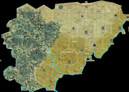 Königsmacher Karte nach Teil 1